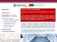 Serata di Networking  Privacy: la nuova accountability - programma